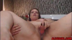 Huge titted BBW SweetPralineX fucks her meaty pussy