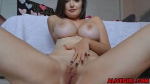 Cute coed SheaFoxxx with huge boobs