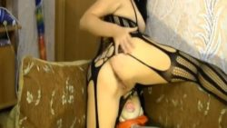Fucking hot teenager MISSforDOLL68 plays with her sex-doll