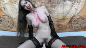 Sexy Vamp-girl will drive U crazy