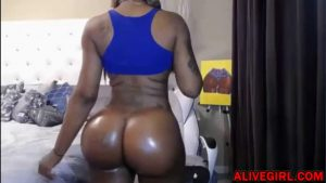 Busty black goddess babe with a bees waist and great round ass